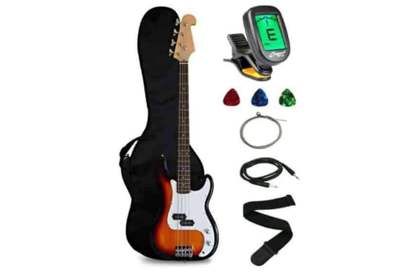 Crescent Electric Bass Guitar Starter Kit Review