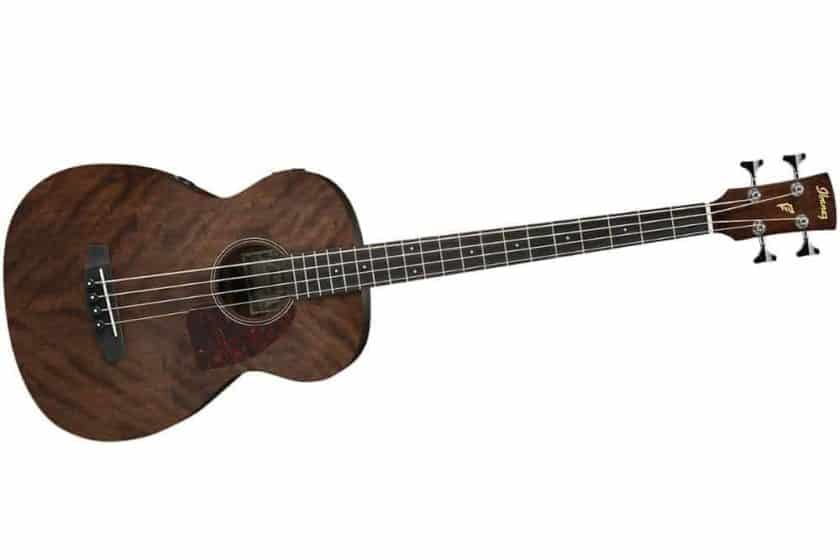 Ibanez PCBE12MHOPN 4-String Acoustic Bass Guitar Review