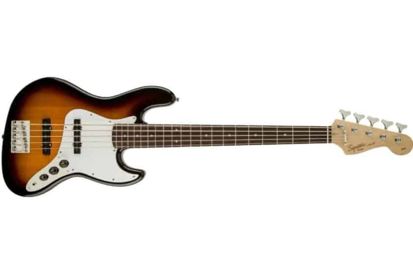 Squier by Fender Affinity Jazz V String Beginner Electric Bass Guitar Review