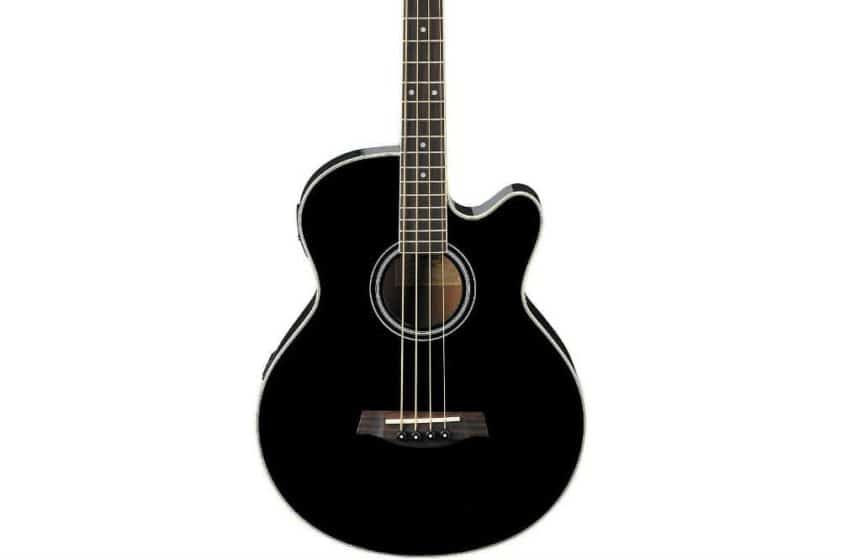 The Black Ibanez Acoustic Electric Bass Review