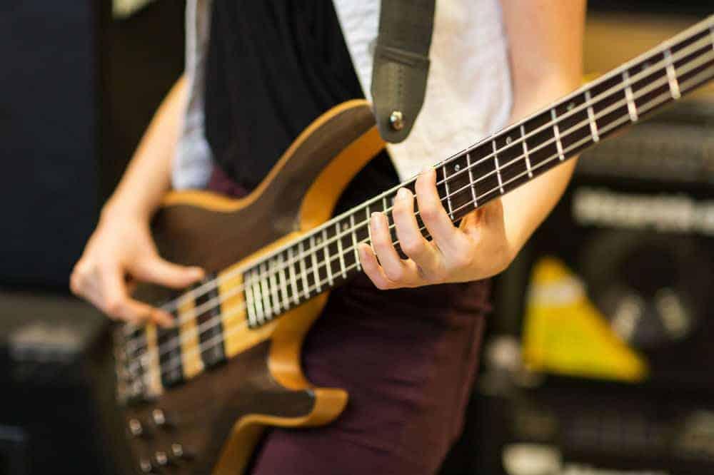 Yamaha TRBX174 BL 4-String Electric Bass Guitar